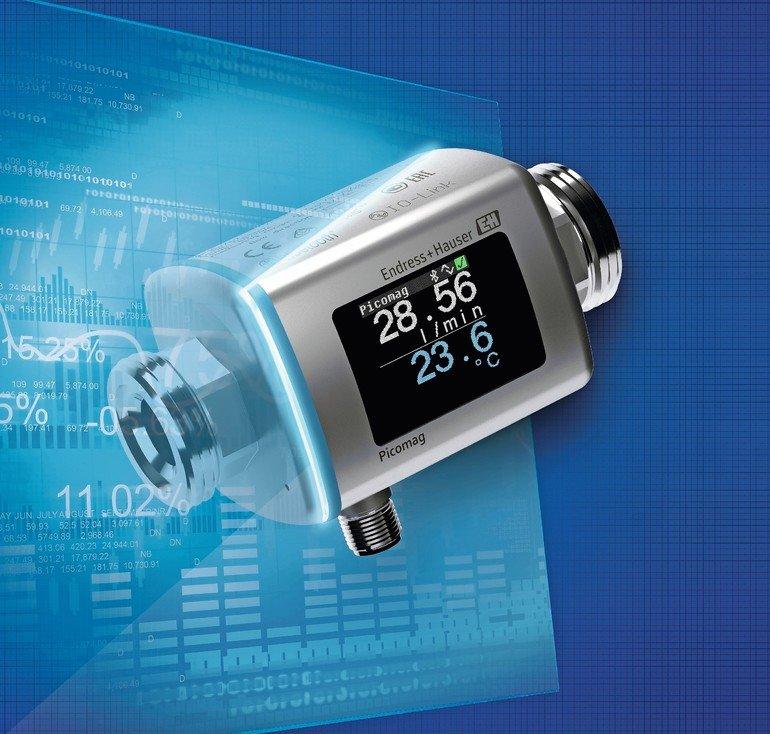Endress+Hauser Kombiniert Zuverlässigkeit Und Systemintegration In  Durchflussmessgerät