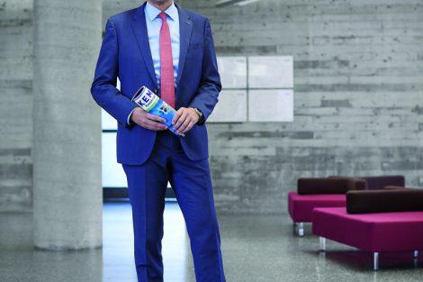 Dr. Klaus Kluger, General Manager Central Region, Omron Electronics GmbH Bild: Rüdiger J. Vogel/Konradin Mediengruppe
