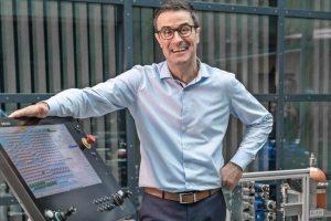 Volker Kirsch, Leiter Bühnentechnik, Bosch Rexroth AG Bild: Rolf Nachbar/Konradin Mediengruppe