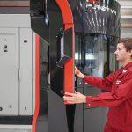 Schaltschrank als Element konsequent in den konzeptionellen Aufbau einer Maschine integriert