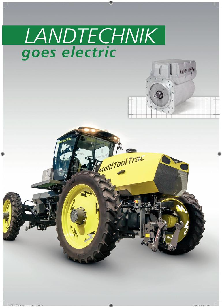 Sensor-Technik Wiedemann liefert Generator für Innovation Elektrisch ...