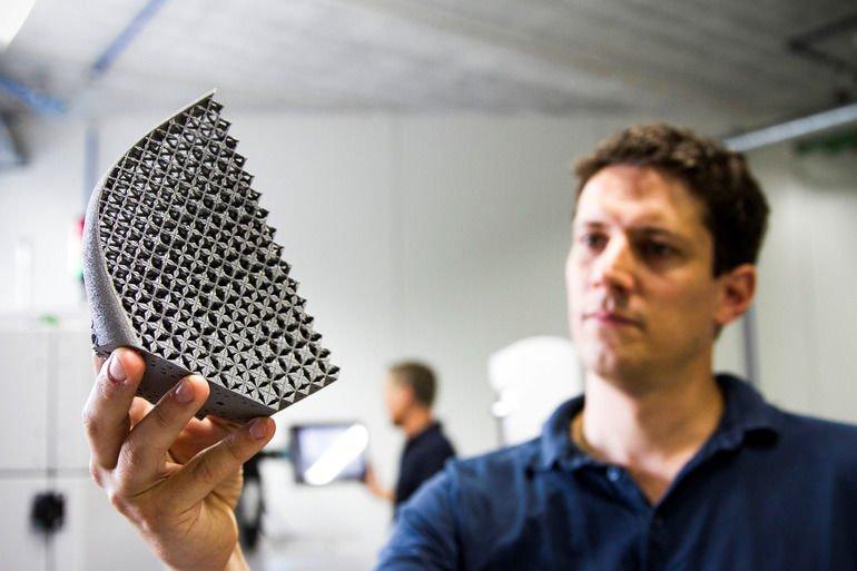Metall-3D-Druck Materialise gmbh münchen