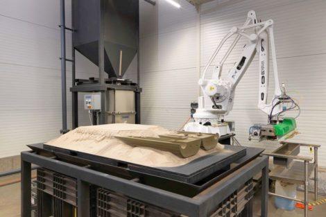 3D-Sanddrucker_Binder-Jetting-Verfahren Gießerei Blöcher EnvisionTec
