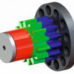 WMH Herion Antriebstechnik Planetenradsatz schrittmotor getriebe spielfrei