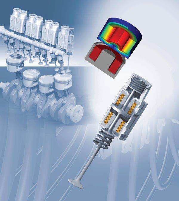 Simulation effizienter Aktoren für den elektromagnetischen ...