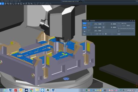 Tebis CNC-Simulator