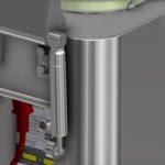 Hydraulischen Bremszylinder in Edelstahlhülsen Pinpoint Scientific Limited