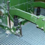 Mit 7Industriestoßdämpfern ausgestattete Gewichtsausgleich-Schwenkarme