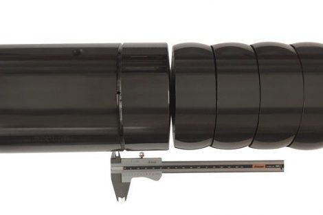 Stahl-Biegedorn mit Spezialbeschichtung