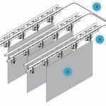 Elektro-Permanentmagnet kabuki system Magnet Schultz kabuki vorhang