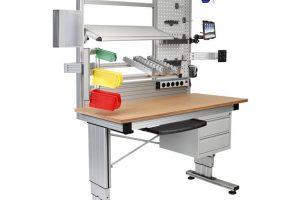 Montagearbeitsplätze-Konfigurator CAD-Modell RK Rose+Krieger