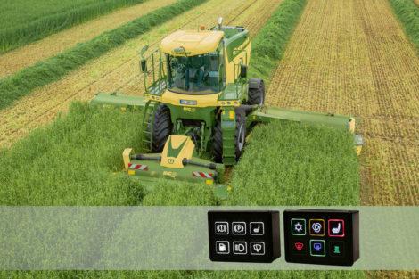 Agritechnica 2019 Bedieneinheiten Agrarmaschinen Griessbach