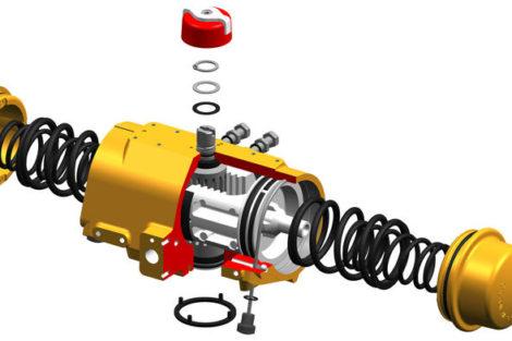 Bormann & Neupert Hytork-Doppelkolben-Schwenkantriebe pneumatik
