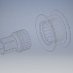 CAD-Zeichnung_einer_Dichtung