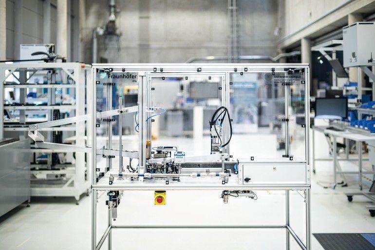 Druckluftdemonstrator Fraunhofer IPA Mader