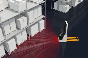 FTS-Positionsermittlung Bosch-Rexroth Locator Transportsysteme