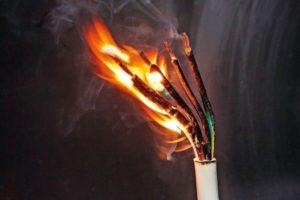 fraunhofer Flammschutz flammgeschützt