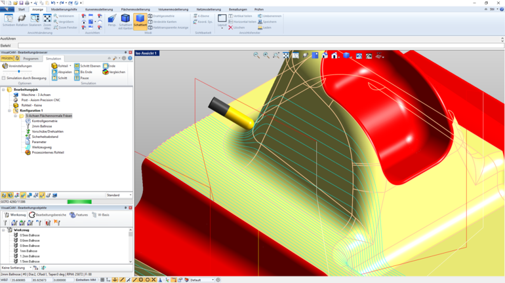 Visual CAD/CAM 2019 und RhinoCAM 2019