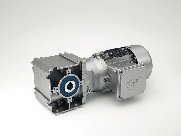 Stirnrad-Schneckengetriebe
