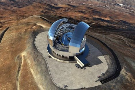 Die_800_im_Teleskop_positionierten_Spiegel_sollen_mit_Wälzlagern_präzise_justiert_werden