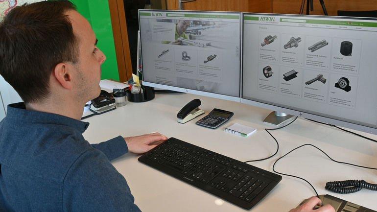 Hiwin lineartechnik website