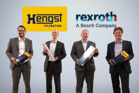 Hydraulik-Filtration-Hengst-Bosch Rexroth-Übernahme