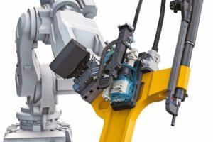 atlas copco Stanznietsysteme Roboter Henrob-Stanznietwerkzeug Unity-Serie