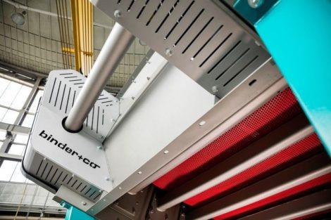 IE3-Motor-WEG-Spannwellensiebmaschine
