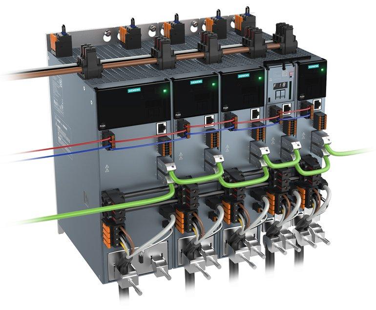 Einachs-Servoantriebssystem Sinamics S210