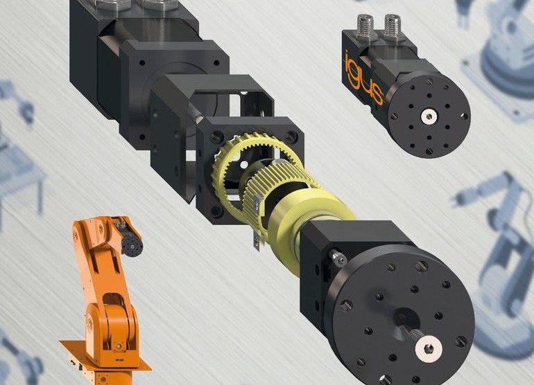 Tribo-Polymere Wellgetriebe igus