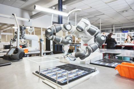 Kollaborative Robotik abb YuMi