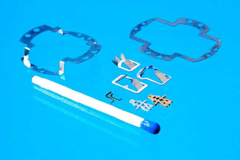 Miniatur-Blechformteile