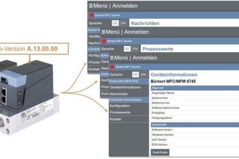 Massendurchflussmessgeräte_Bürkert_Webserver