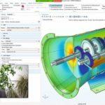 Demonstration_von_Comsol_Multiphysics_am_Bildschirm