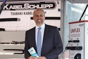 Jens Stadter, Vice President Cable Carrier Systems, Tsubaki Kabelschlepp Group Bild: imago das bild