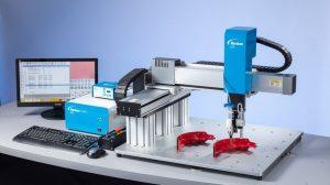 Nordson EFD CCD-Smart-Vision-Kamera Flüssigkeitsdosierroboter