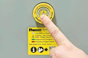 Panduit VeriSafe Spannungsfreiheit Schaltschrank Sicherheit