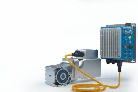 Permanentmagnet-Synchronmotor-getriebebau Nord-LogiDrive-Antrieb