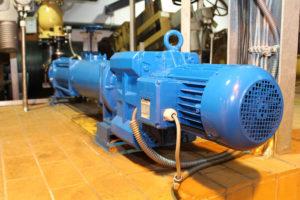 Permanentmagnet Synchronmotor bauer gear motor Klärwerk Bayreuth