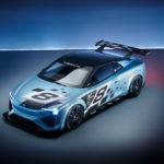 LED-Modul_mit_futuristischem_Design_in_Elektro-Sportwagen