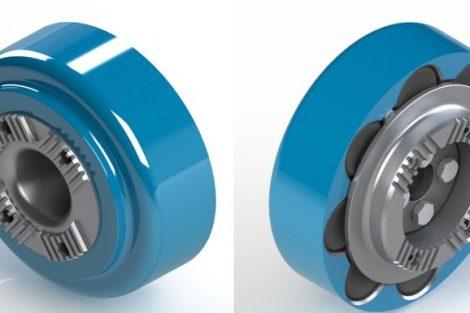 Gummirollenkupplung