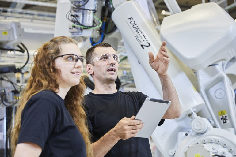 ABB Roboter Online-Plattform kollaborative Robotik automatisierungslösungen