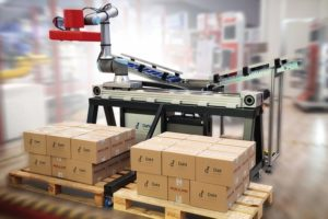 Linearachsen Cobots Dahl Linear Move Rollon universal robots