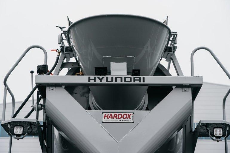 Hardox-Stahl
