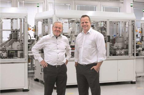 Die geschäftsführenden Gesellschafter Heinz und Philip Schmersal (v.l.)