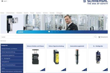 Schmersal Online-Katalog Sicherheitsschalter