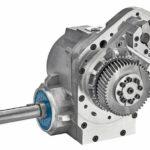 Webmaschine Schneckengetriebe getriebe SPN Schwaben Präzision vorteile schneckengetriebe gegenüber stirnradgetriebe