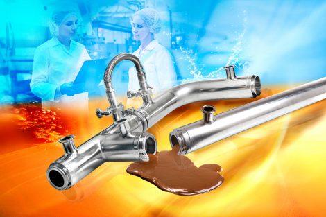 effiziente Temperaturübertragung in Rohrleitungen
