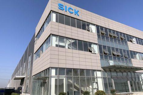 Sensorik Sick Produktionsstandort China Changzhou