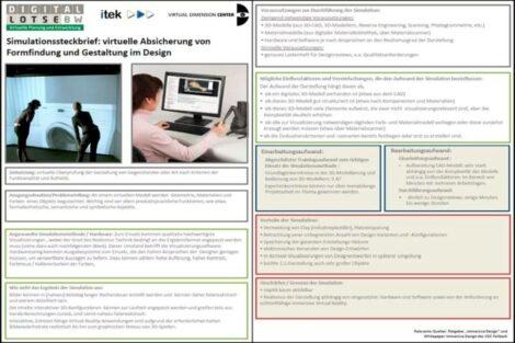 Simulations-Steckbriefe
